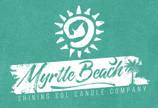Shining Sol Myrtle Beach Shirt Closeup