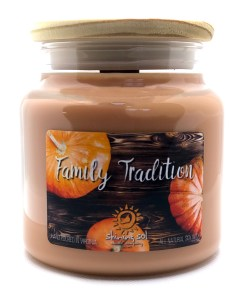 Family Tradition - Large Jar Candle