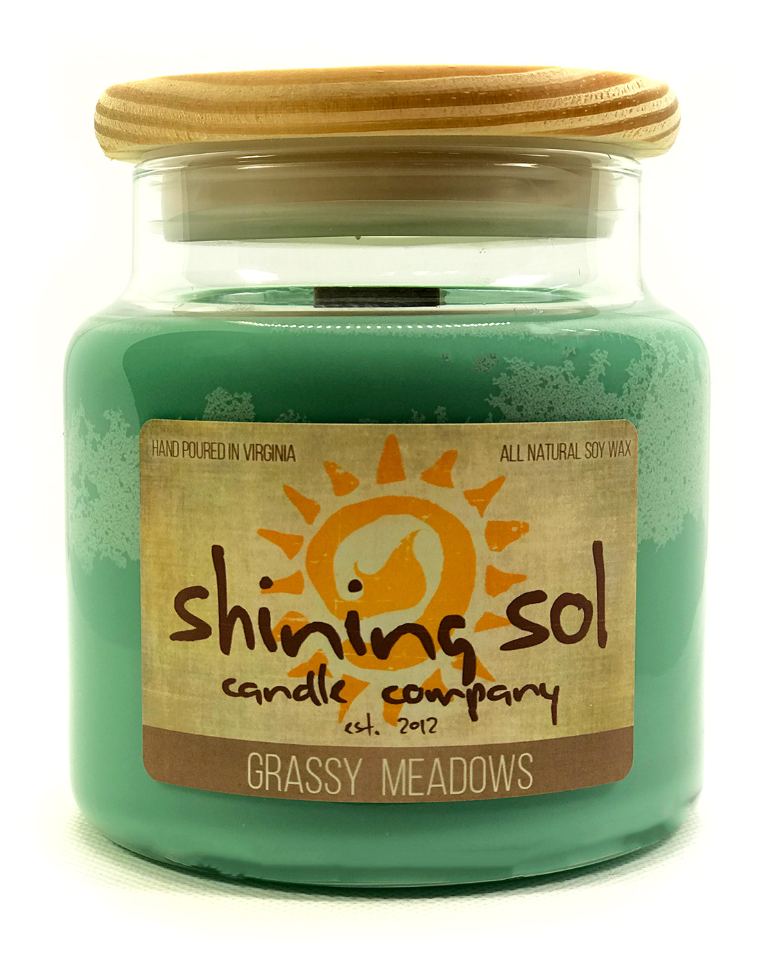 Grassy Meadows - Large Jar Candle