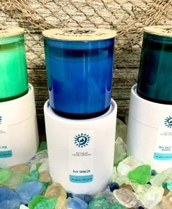 Sea Glass Collection - white tube