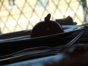 パティスリー白亜館のケーキセット