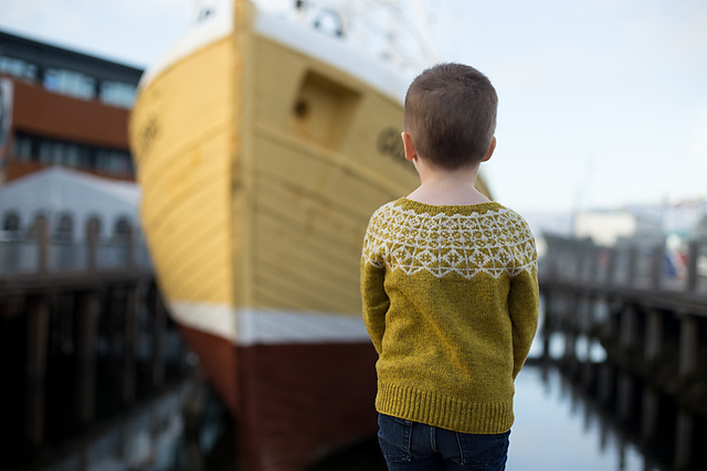 Compass by Tin Can Knits Kids version