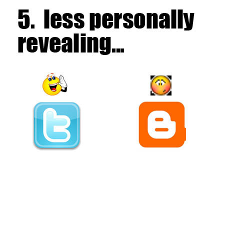 5. Less Personally Revealing