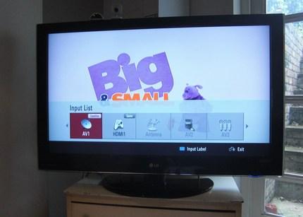 Short Term HDTV Test The LG LCD 42LH5000 ShinyShiny