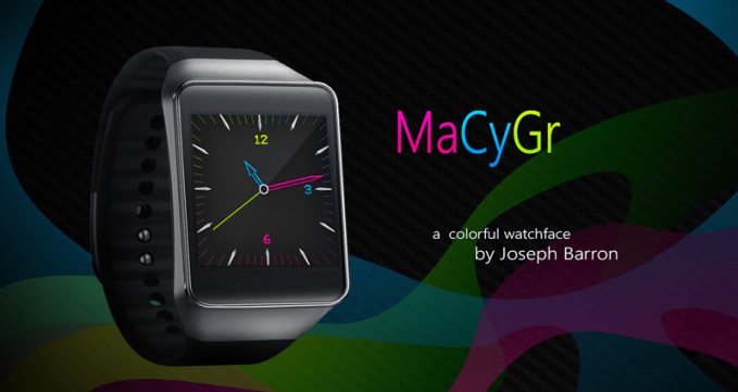 MaCyGr theme for Android Wear