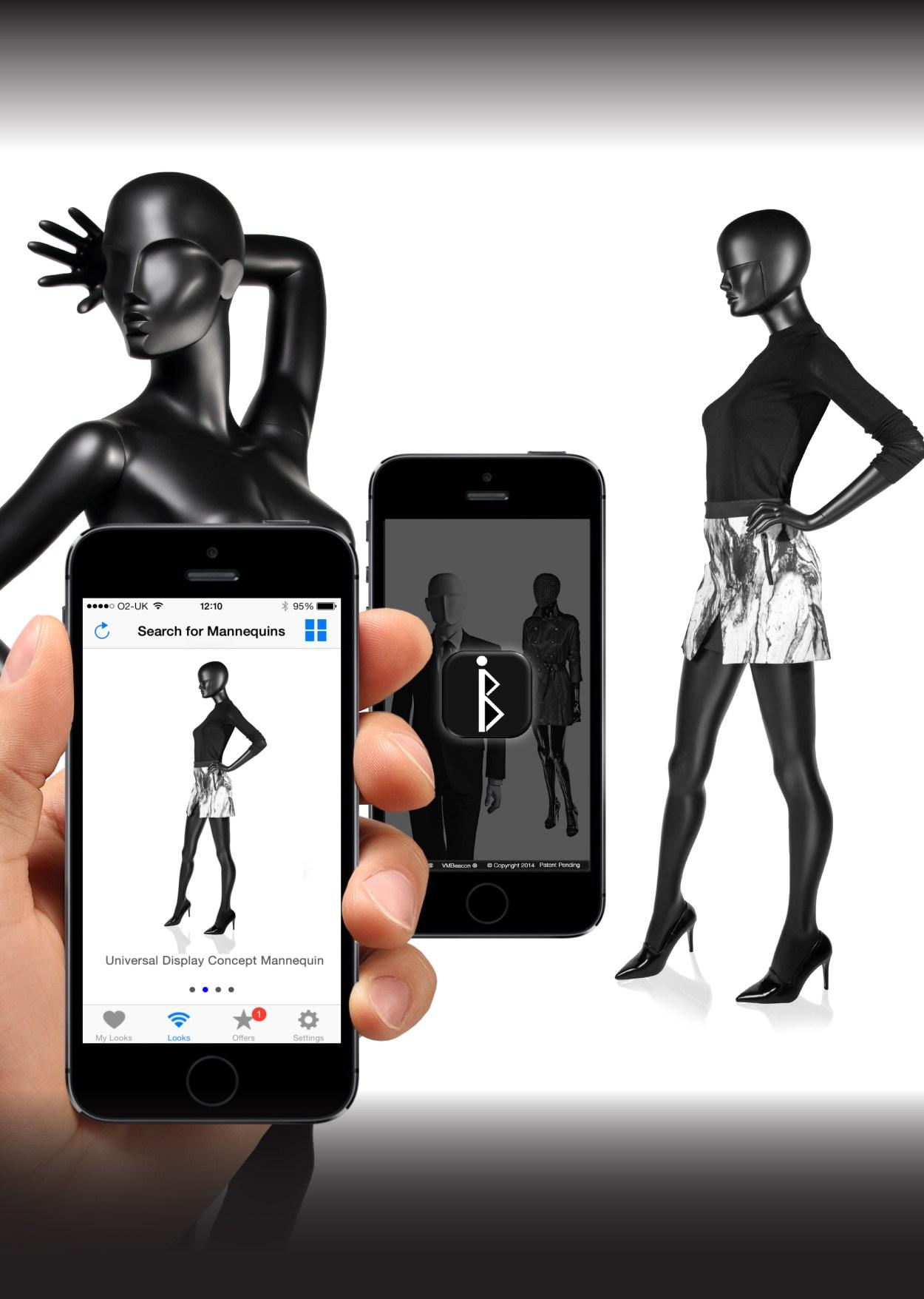 Universal Display Concept Mannequin & Iconeme VM Beacon