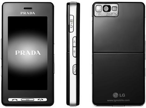 LG Prada KE850
