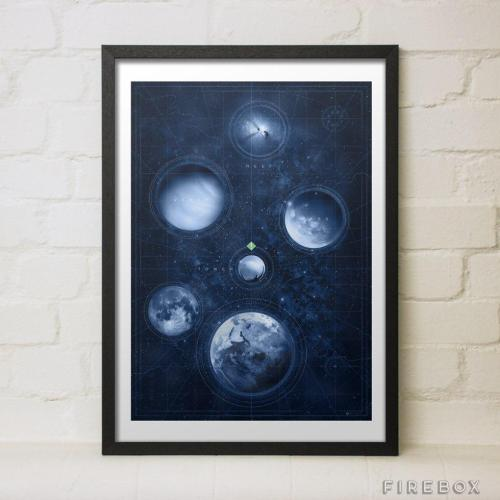 Destiny print Firebox