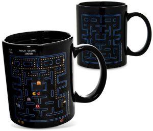 Pacman colour-changing mug
