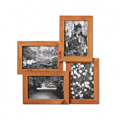 Tiger four-picture frame