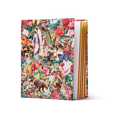 Tiger floral scrapbook album