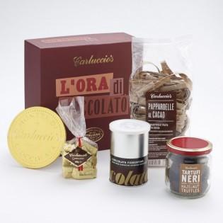 Carluccio's chocolate set