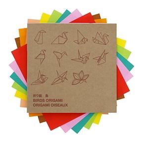 Origami birds Muji