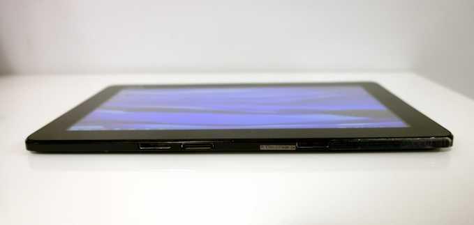 tablet side