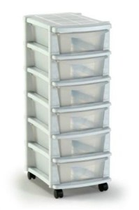 Argos 6 drawer unit