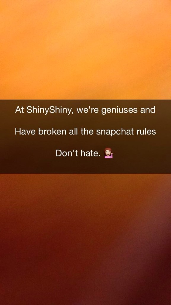 snapchat multi line caption