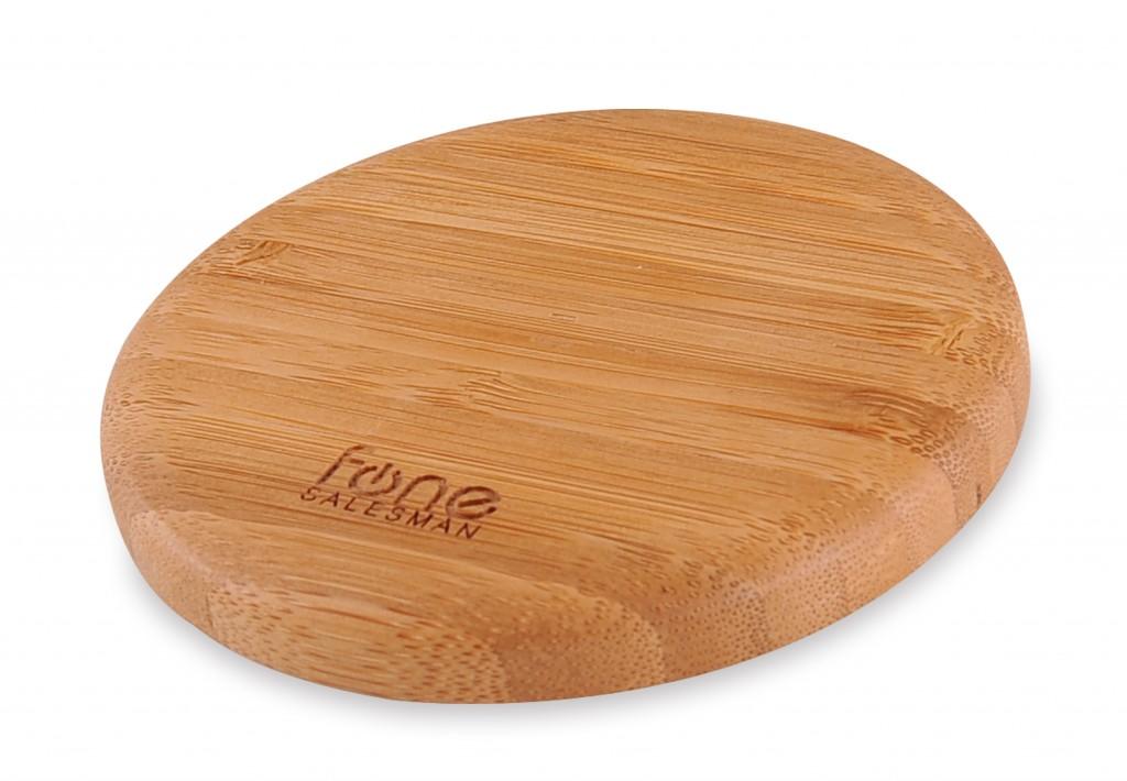 Fonesalesman WoodPuck Qi charging mat