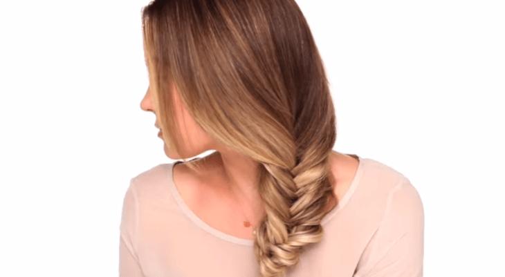 Beauty Department fishtail braid