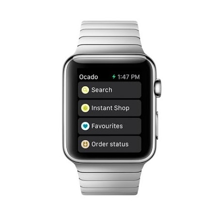Apple Watch apps: Ocado.