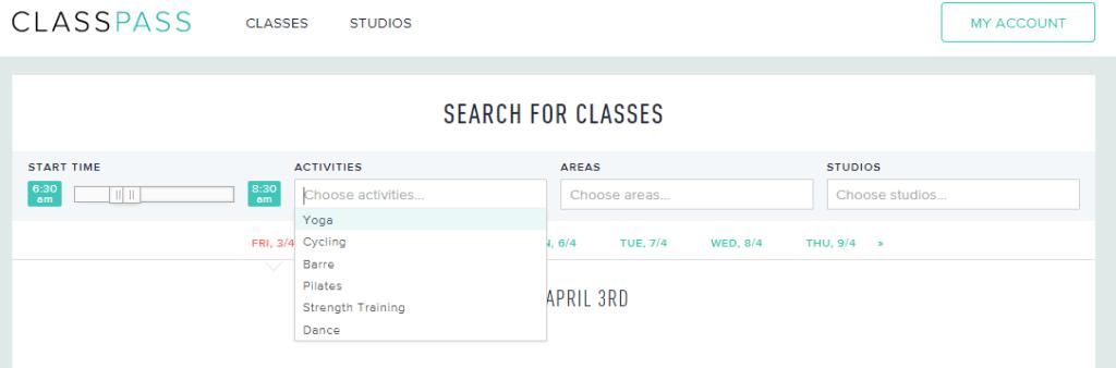 choose a class