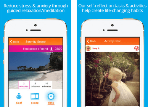 Interesting apps for when you're bored: Happify.