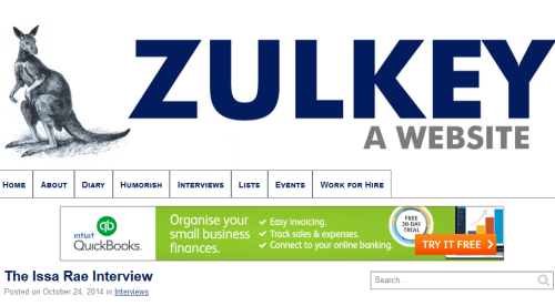 Interesting websites: Zulkey.