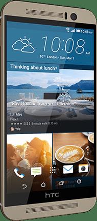 iPhone alternatives: HTC One M9.