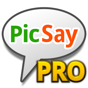 Photo editing apps for Android: PicSay Pro.