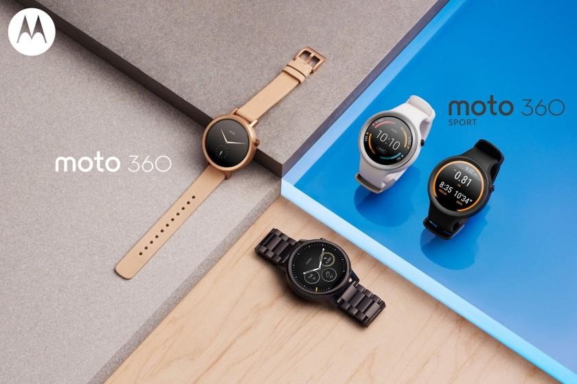 Motorola launches its second generation Moto 360 smart watches