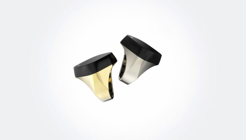 They Neyya smart ring is available in two versions: titanium (£129) and gold (£159)