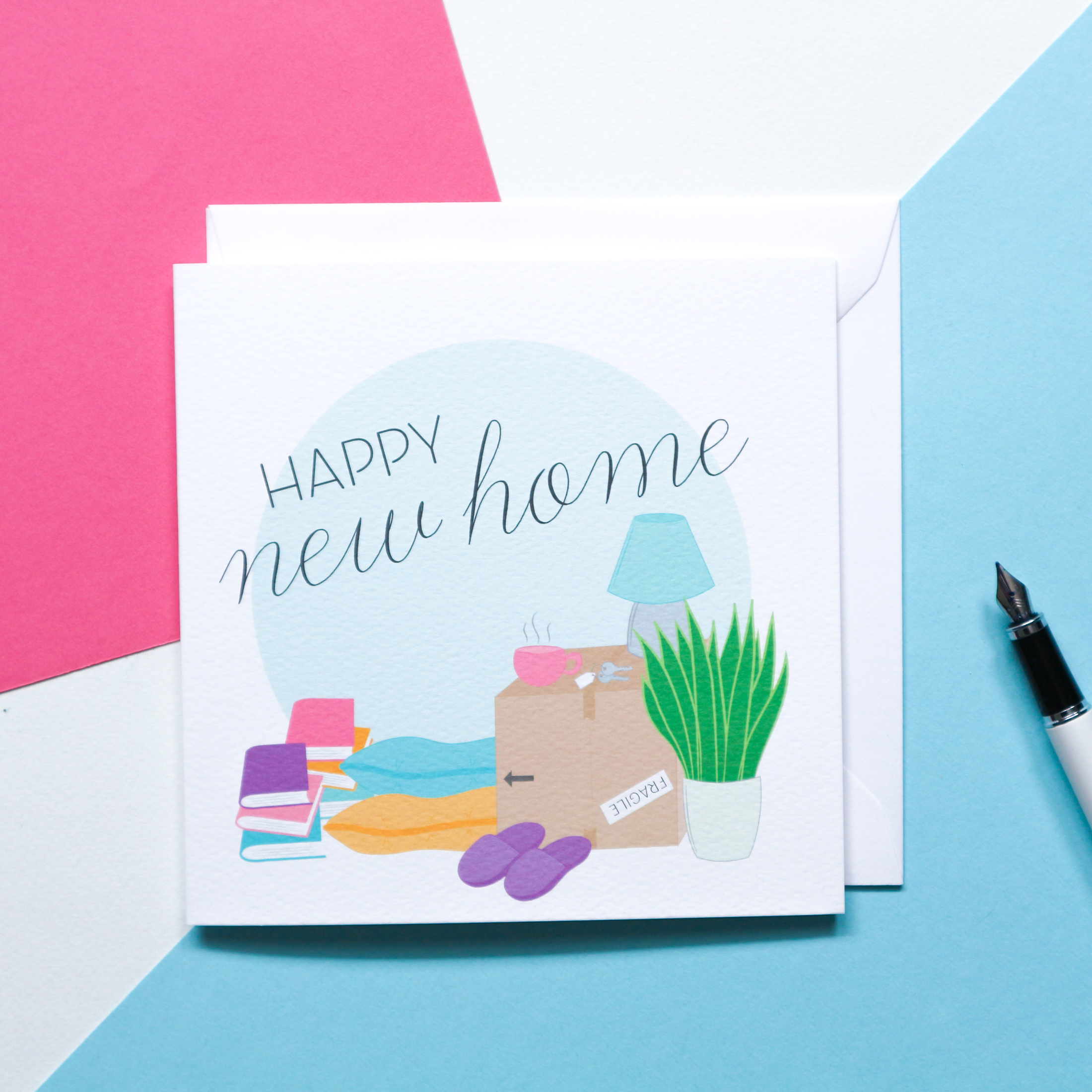 Sian Shrimpton Happy New Home Card