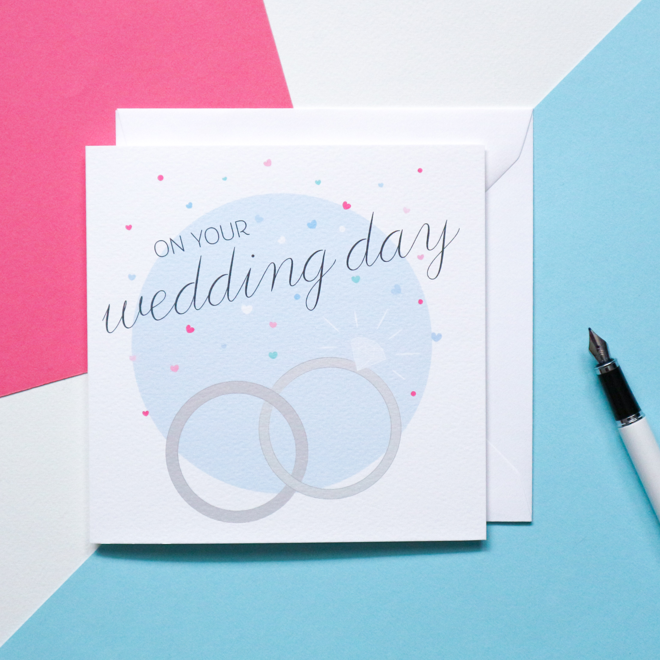 Sian Shrimpton Wedding Card