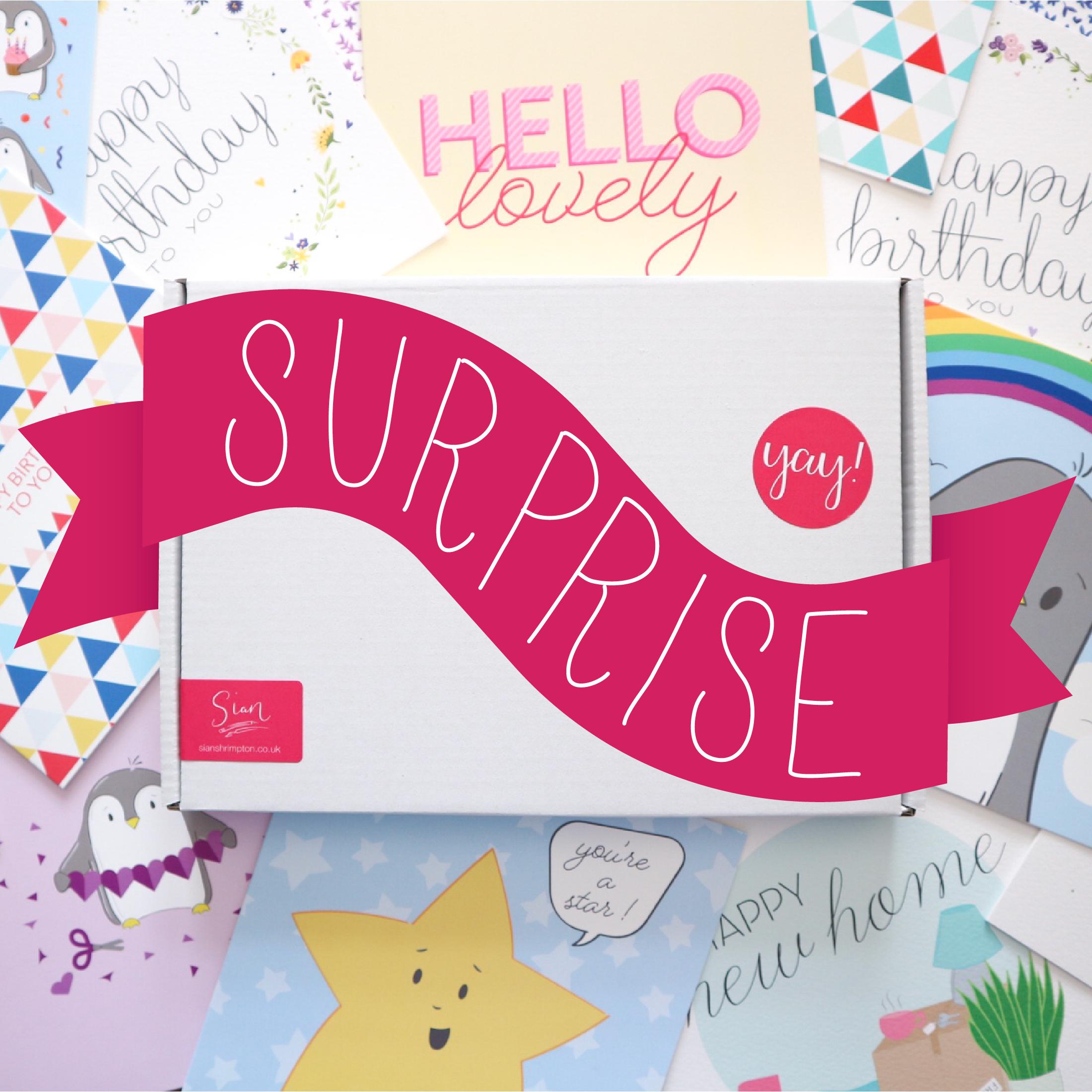 Sian Shrimpton Card Surprise Box