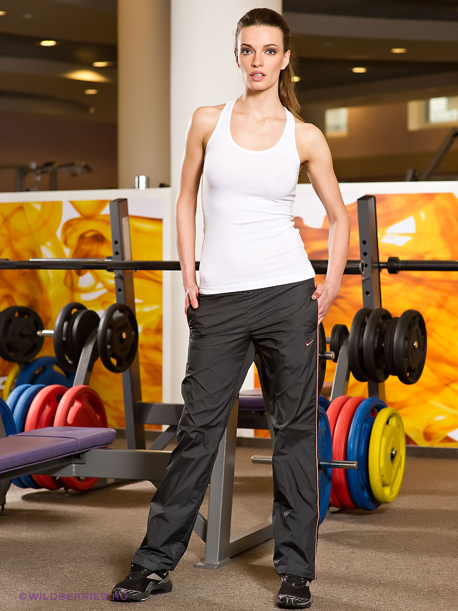 Women's Nike Nylon Taffeta Side Pipings Pants