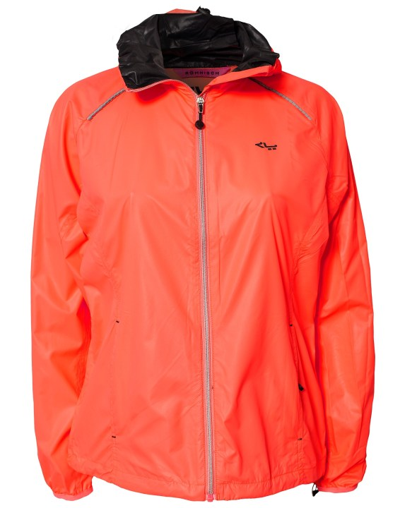 Rohnisch Alba Running Jacket in Red Product View