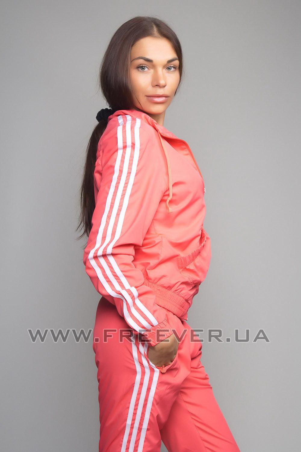Orange Women's Adidas Tracksuit