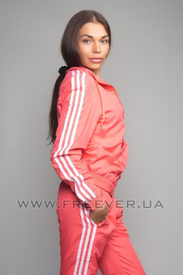Orange Women's Adidas Tracksuit
