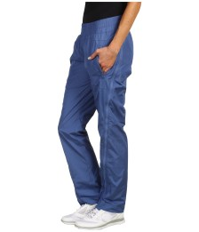 Adidas Stella McCartney Studio Woven Pants in Baby Blue Side View