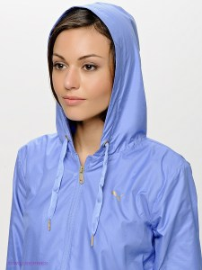 Women's Puma Tracksuit Jacket Close up