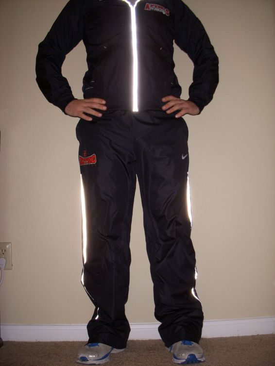 Men's Nike Resistance Warm Ups Front View
