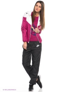 Pink Women's Nike Tracksuit Full View