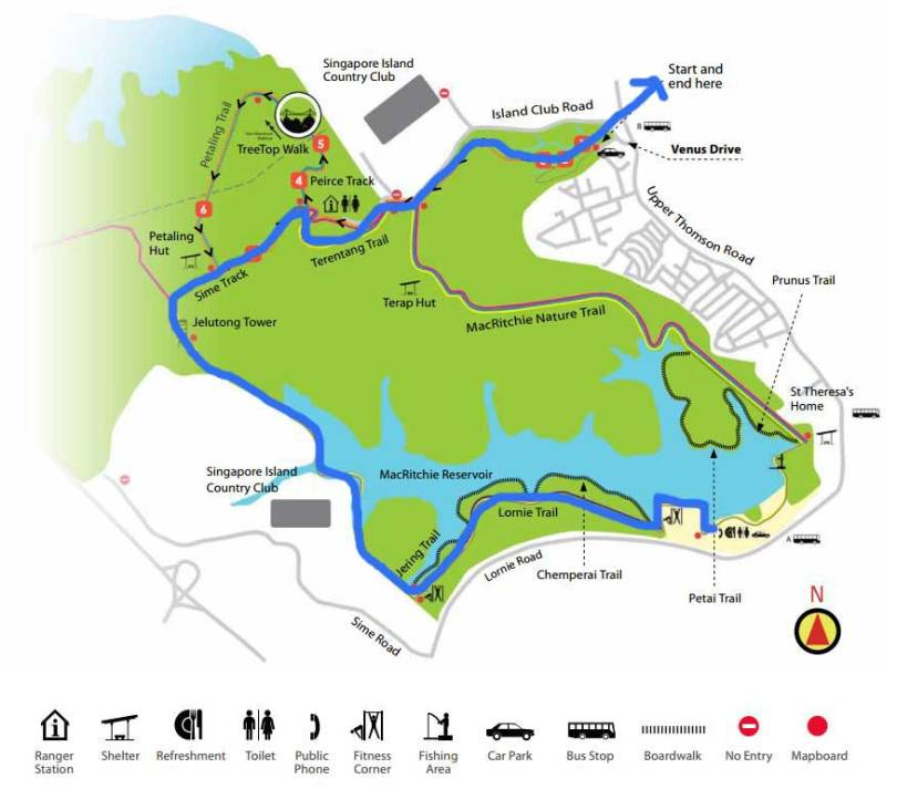 macritchie-map-our-hiketrail