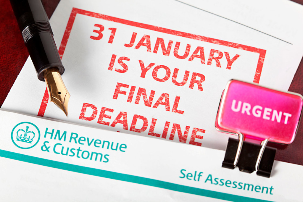 SELF-ASSESSMENT TAX RETURN DEADLINES Shipleys Tax Advisors