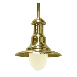 Solid Brass Wharf Light by Shiplights (C-7TUB)