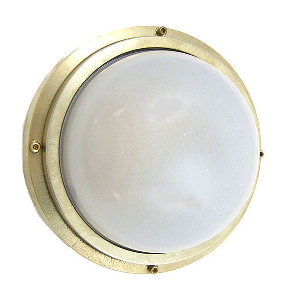 Industrial Flush Mount Light Fixture (F-5) by Shiplights