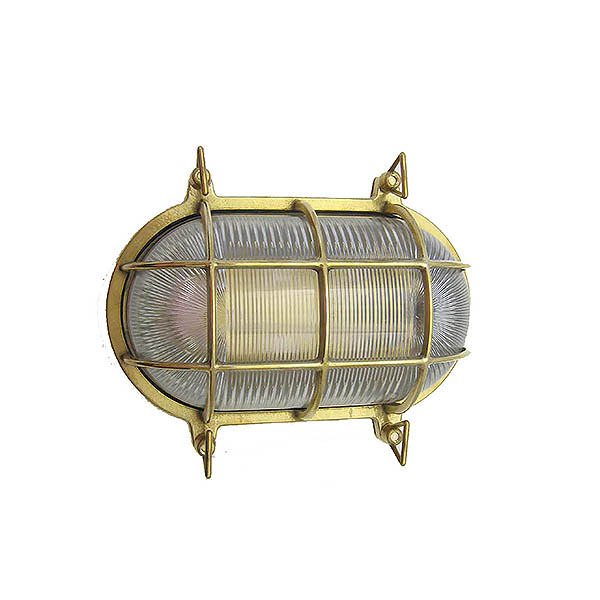 Solid Brass Nautical Wall Sconce