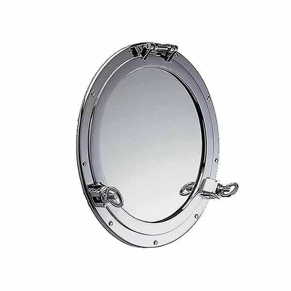 Chrome Porthole Mirror