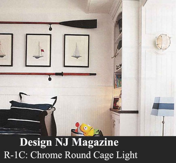Marine Cover Wall Light by Shiplights