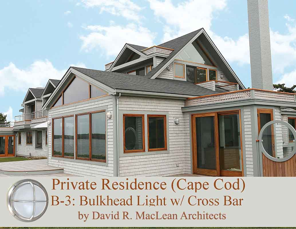 Durable Exterior LED Brass Lights by Shiplights
