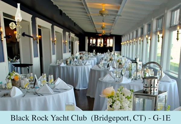 Yacht Club Nautical Wall Sconces (G-1E) by Shiplights